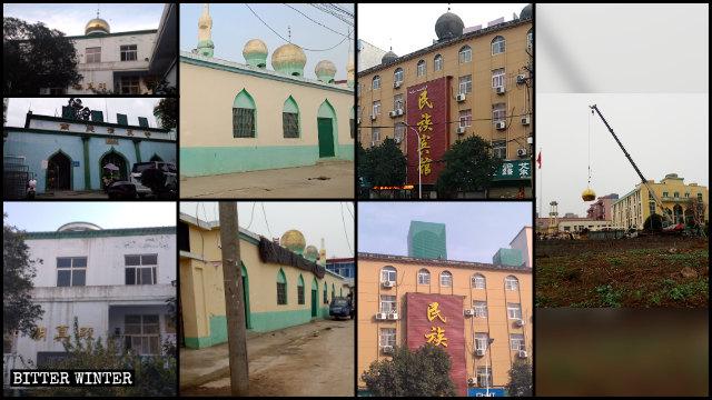mosques-in-Xinyang's-Nanguan-sub-district