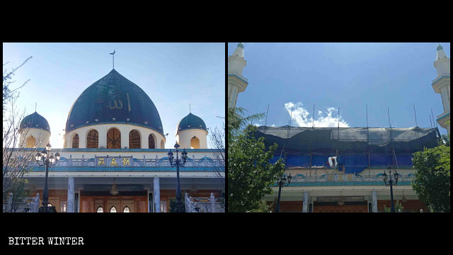 """The-South-Wuliqiao-Mosque-was-""""sinicized""""-in-May"""
